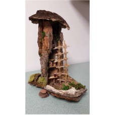 Fairy House - Upright 3-Story Bark