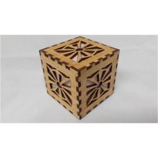 Sun Rays Cube