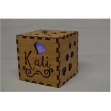 Pet Memorial Cube